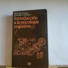 Libros de segunda mano: INTRODUCCIÓN A LA PSICOLOGIA COGNITIVA. Lote 110963775