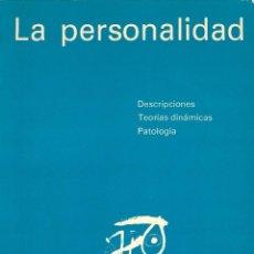 Libros de segunda mano: LA PERSONALIDAD - P. PICHOT, J.D. GUELFI, C.HAKIM - ROCHE, MADRID, 1977.. Lote 111661171