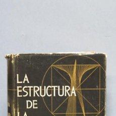 Libros de segunda mano: LA ESTRUCTURA DE LA PERSONALIDAD. LERSCH. Lote 112446327