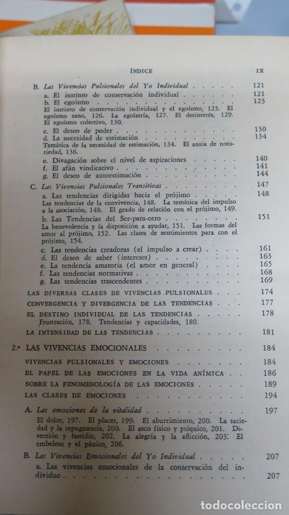 Libros de segunda mano: LA ESTRUCTURA DE LA PERSONALIDAD. LERSCH - Foto 4 - 112446327