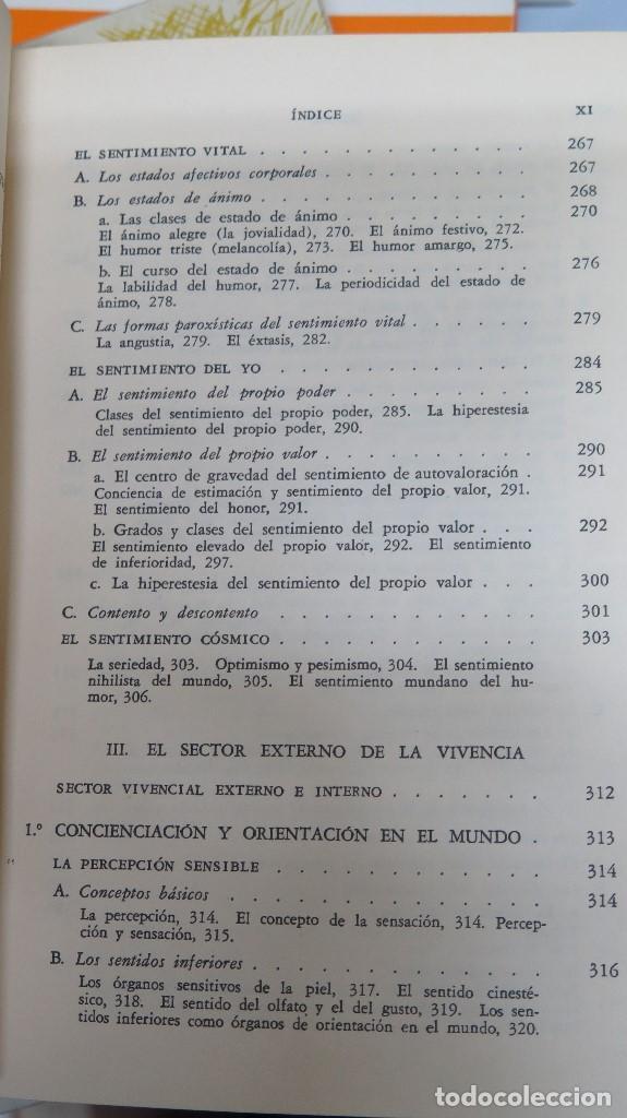 Libros de segunda mano: LA ESTRUCTURA DE LA PERSONALIDAD. LERSCH - Foto 6 - 112446327