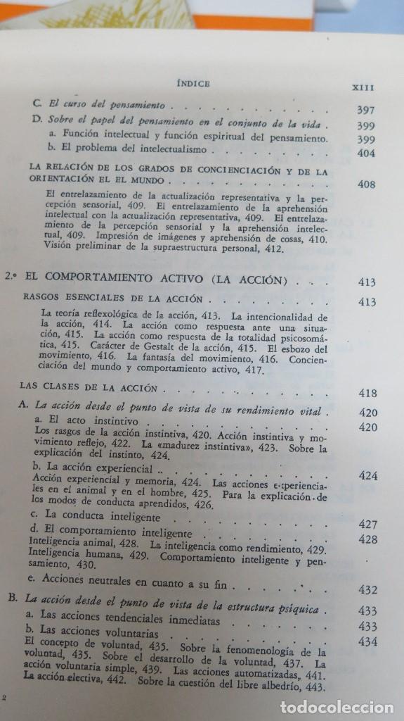 Libros de segunda mano: LA ESTRUCTURA DE LA PERSONALIDAD. LERSCH - Foto 8 - 112446327