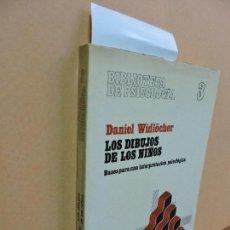Libros de segunda mano: LOS DIBUJOS DE LOS NIÑOS. WIDLÖCHER, DANIEL. COL. BIBLIOTECA DE PSICOLOGÍA, 3.. Lote 112974339