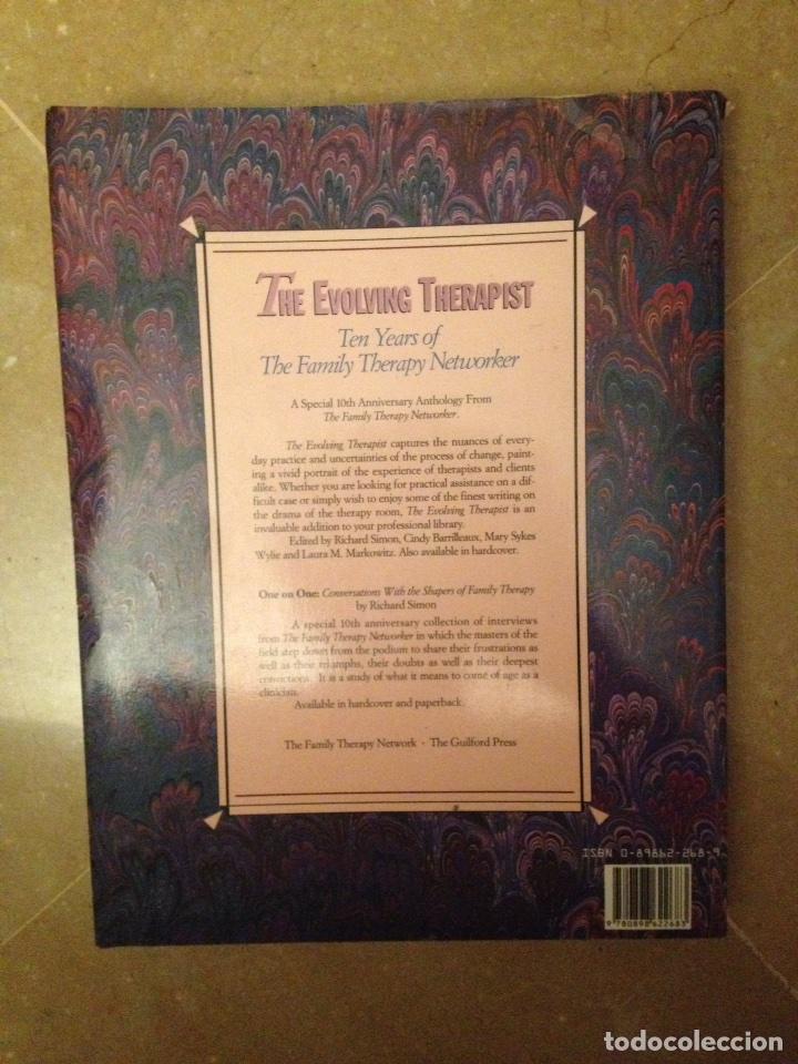 Libros de segunda mano: The evolving therapist (Simon / Barrilleaux / Wylie / Markowitz) - Foto 8 - 114487135