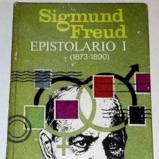 Libros de segunda mano: EPISTOLARIO I (1873-1890); SIGMUND FREUD - PLAZA & JANES 1971. Lote 115029659