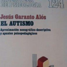 Libros de segunda mano: EL AUTISMO DE JESUS GARANTO ALOS (HERDER). Lote 115408027