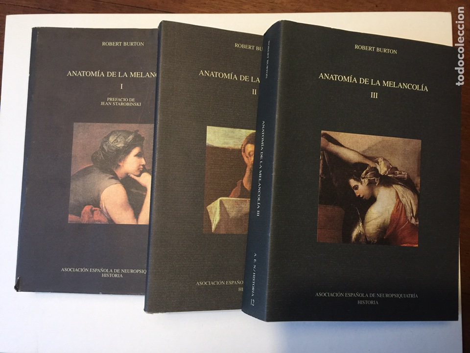 robert burton. anatomía de la melancolía. compl - Comprar Libros de ...
