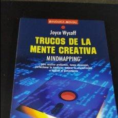 Libros de segunda mano: TRUCOS DE LA MENTE CREATIVA. JOYCE WYCOFF. MARTINEZ ROCA 1994. . Lote 116179807
