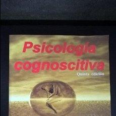 Libros de segunda mano: PSICOLOGIA COGNOSCITIVA. JOHN B. BEST. THOMSON 2002 MEXICO DF. . Lote 116451503