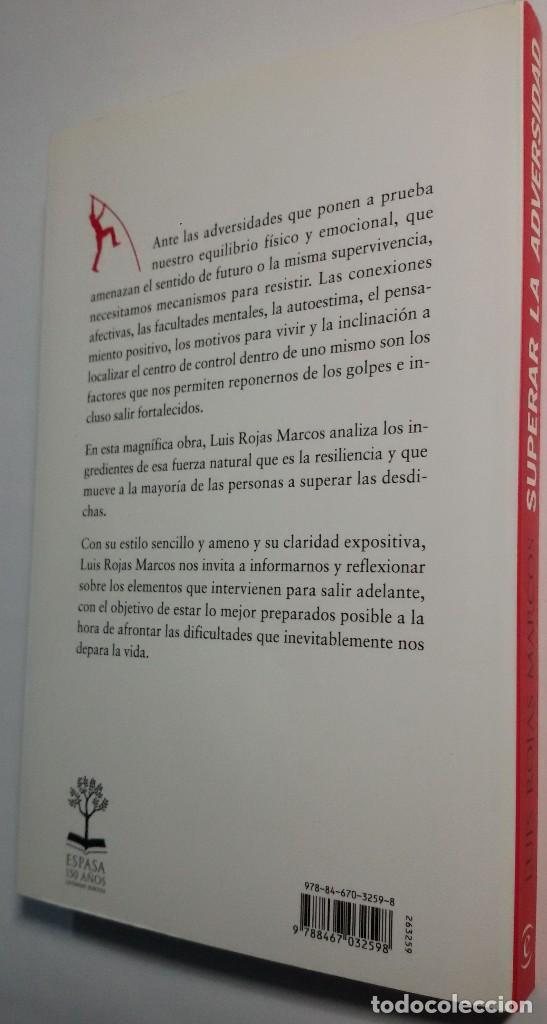 superar la adversidad (autor: luis rojas marcos - Comprar Libros de ...