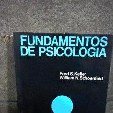 Libros de segunda mano: FRED S. KELLER Y WILLIAM N. SCHOENFELD. FUNDAMENTOS DE PSICOLOGIA. CONDUCTA HUMANA Nº 23. FONTANELLA. Lote 121043388