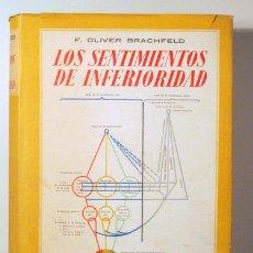 Libros de segunda mano: BRACHFELD, F. OLIVER - LOS SENTIMIENTOS DE INFERIORIDAD - BARCELONA 1944 - ILUSTRADO. Lote 117092644