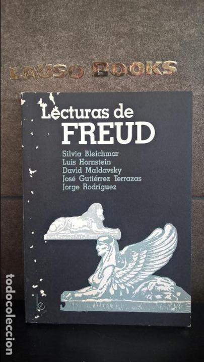 LECTURAS DE FREUD. VV.AA. LUGAR EDITORIAL 1990 BUENOS AIRES ARGENTINA. SILVIA BLEICHMAR,LUIS HORNSTE (Libros de Segunda Mano - Pensamiento - Psicología)