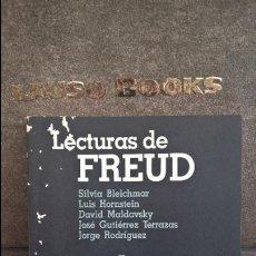Libros de segunda mano: LECTURAS DE FREUD. VV.AA. LUGAR EDITORIAL 1990 BUENOS AIRES ARGENTINA. SILVIA BLEICHMAR,LUIS HORNSTE. Lote 117650643