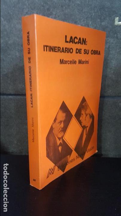 Libros de segunda mano: LACAN: ITINERARIO DE SU OBRA. MARCELLE MARINI. NUEVA VISION SAIC BUENOS AIRES, ARGENTINA 1989. - Foto 2 - 116434603