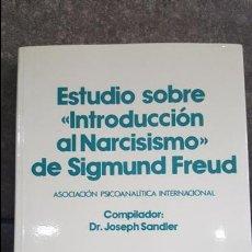 Libros de segunda mano: ESTUDIO SOBRE INTRODUCCION AL NARCISISMO DE SIGMUND FREUD. DR JOSEPH SANDLER. 1991.. Lote 118252363