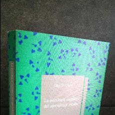 Libros de segunda mano: LA PSICOLOGIA COGNITIVA DEL APRENDIZAJE ESCOLAR. ELLEN D. GAGNE. APRENDIZAJE VISOR 1991.. Lote 119068211