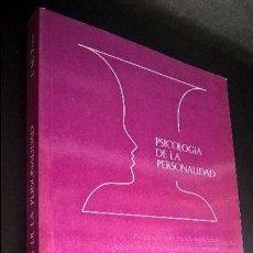 Libros de segunda mano: J. M. TOUS PSICOLOGIA DE LA PERSONALIDAD. PPU 1986. . Lote 119073775