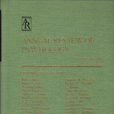 Libros de segunda mano: ANNUAL REVIEW OF PSYCHOLOGY. VOLUME 44 (1993). Lote 119078511