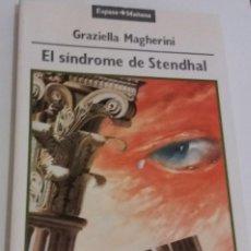 Libros de segunda mano: EL SINDROME DE STENDHAL - MAGHERINI, GRAZIELLA. Lote 119292567