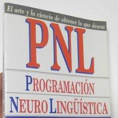 Second hand books - PNL. PROGRAMACIÓN NEUROLINGÜÍSTICA - HARRY ALDER - 119668555