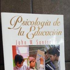 Libros de segunda mano: PSICOLOGIA DE LA EDUCACION. JOHN W. SANTROCK. MC GRAW HILL 2001.. Lote 120181927