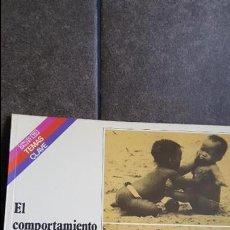 Libros de segunda mano: EL COMPORTAMIENTO HUMANO. JOSEP TORO TRALLERO. . Lote 120219731