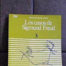 Libros de segunda mano: LOS CASOS DE SIGMUND FREUD 3. EL HOMBRE DE LAS RATAS. VV.AA. NUEVA VISION SAIC BUENOS AIRES 1988. . Lote 120436195