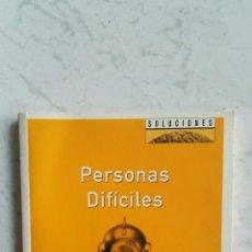 Libros de segunda mano: PERSONAS DIFÍCILES ROS JAY. Lote 120747679
