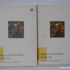 Libros de segunda mano: HISTORIA DEL PSICOANALISIS (LIBRO Y LIBRO II). REUBEN FINE. PAIDOS PSICOLOGIAS DEL SIGLO XX. TDK346. Lote 121169243