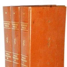 Libros de segunda mano: OBRAS COMPLETAS DE SIGMUND FREUD. ENSAYOS. ( TOMOS I, II Y III). Lote 121408099