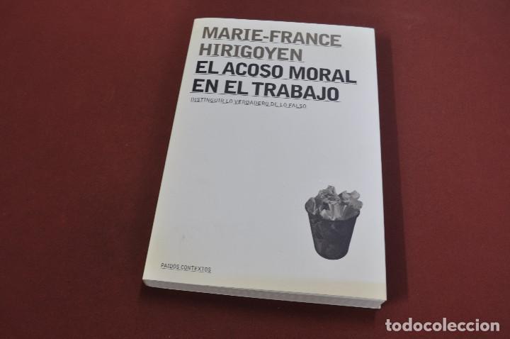 El Acoso Moral En El Trabajo Marie France Hir Comprar Libros De Psicología En Todocoleccion 121757879