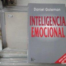 Libros de segunda mano: INTELIGENCIA EMOCIONAL DANIEL GOLEMAN. Lote 121904655