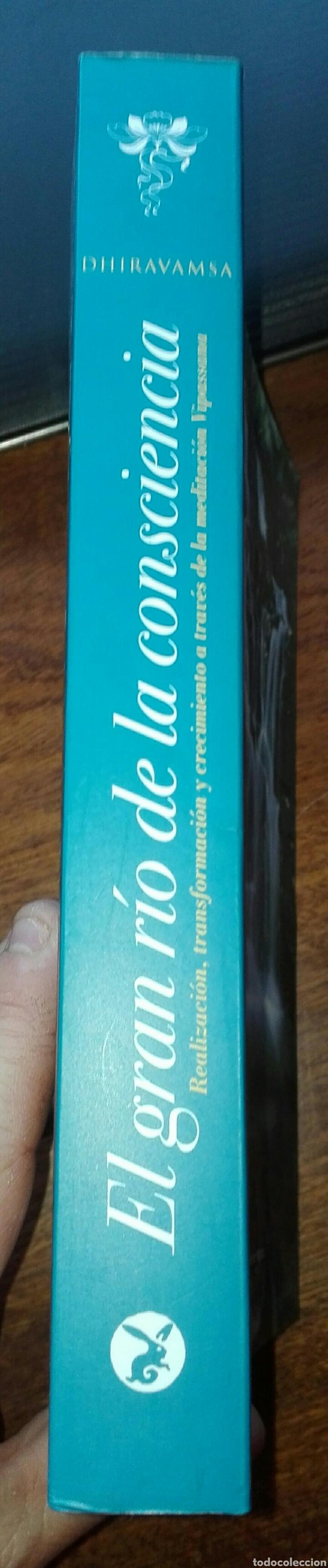Libros de segunda mano: EL GRAN RÍO DE LA CONSCIENCIA. REALIZACIÓN, TRANSFORMACIÓN Y CRECIMIENTO A TRAVÉS DE la MEDITACIÓN. - Foto 2 - 121932358
