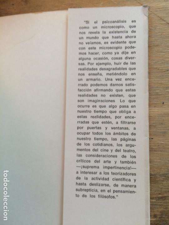 Libros de segunda mano: FRONTERAS VIVAS DEL PSICOANÁLISIS. JUAN ROF CARBALLO. - Foto 5 - 122770159