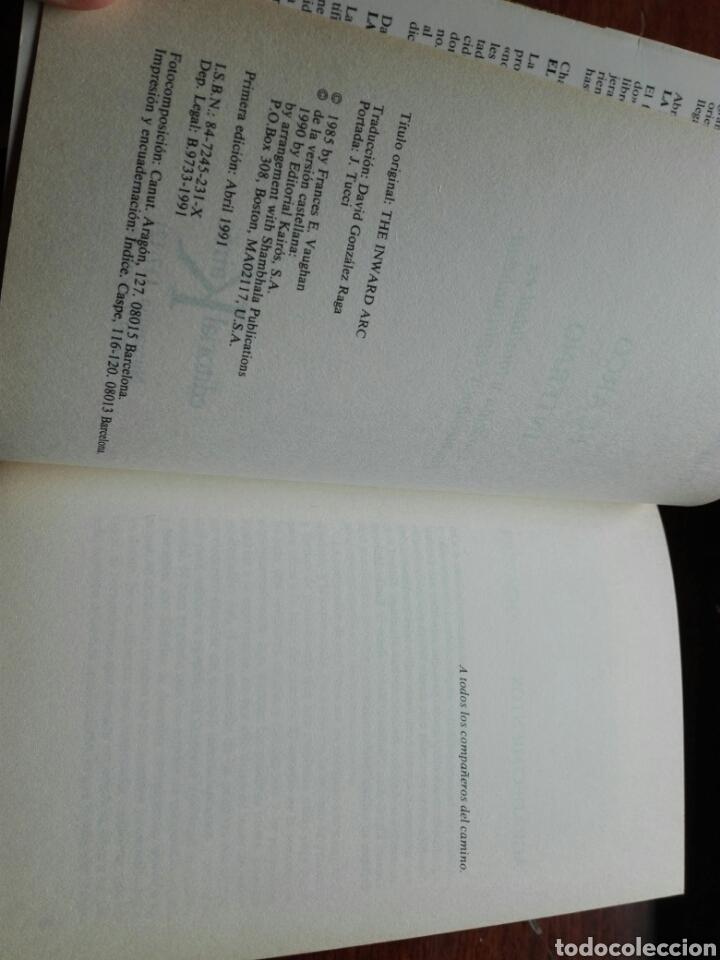 Libros de segunda mano: El arco interno. Francés Vaughan. Psicoterapia. Ed. Kairós. 1 edición. castellano 1991. - Foto 4 - 123353046