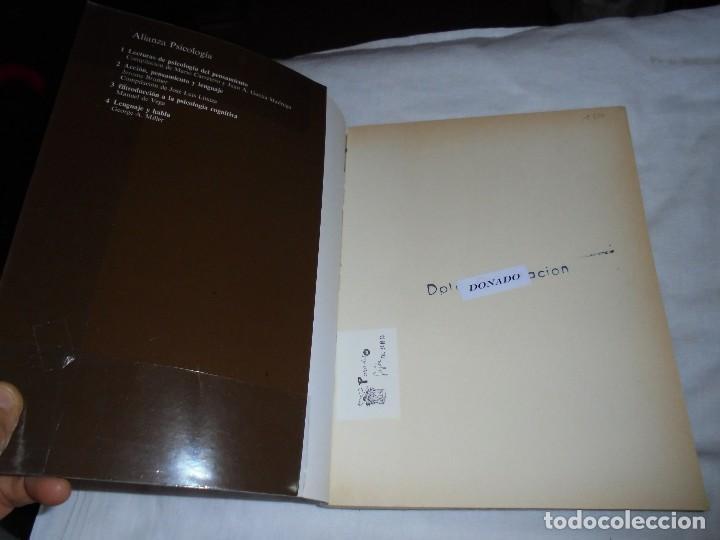 Libros de segunda mano: EL APRENDIZAJE Y LA MEMORIA.DONALD A.NORMAN.ALIANZA PSICOLOGIA.MADRID 1985 - Foto 3 - 124660287
