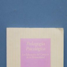 Libros de segunda mano: PEDAGOGIA PSICOLOGICA. JOSE MAº QUINTANA. Lote 125148335