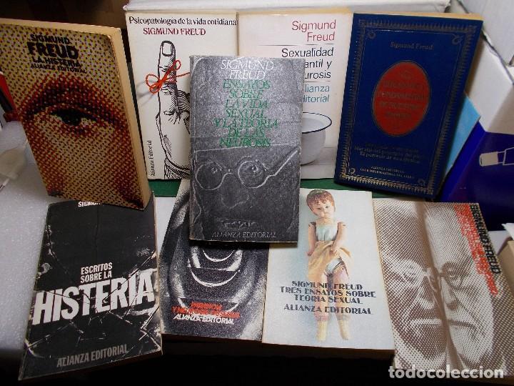 LOTE SIGMUND FREUD ALIANZA EDITORIAL 10 LIBROS. BUEN ESTADO (Libros de Segunda Mano - Pensamiento - Psicología)
