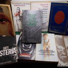 Libros de segunda mano: LOTE SIGMUND FREUD ALIANZA EDITORIAL 10 LIBROS. BUEN ESTADO. Lote 125809331