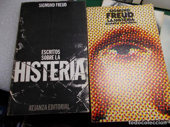 Libros de segunda mano: LOTE SIGMUND FREUD ALIANZA EDITORIAL 10 LIBROS. BUEN ESTADO - Foto 3 - 125809331