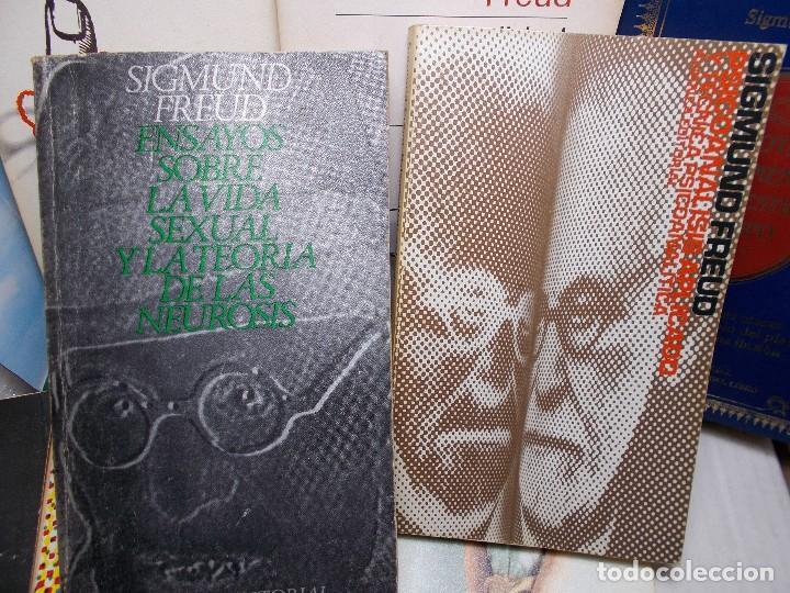 Libros de segunda mano: LOTE SIGMUND FREUD ALIANZA EDITORIAL 10 LIBROS. BUEN ESTADO - Foto 4 - 125809331