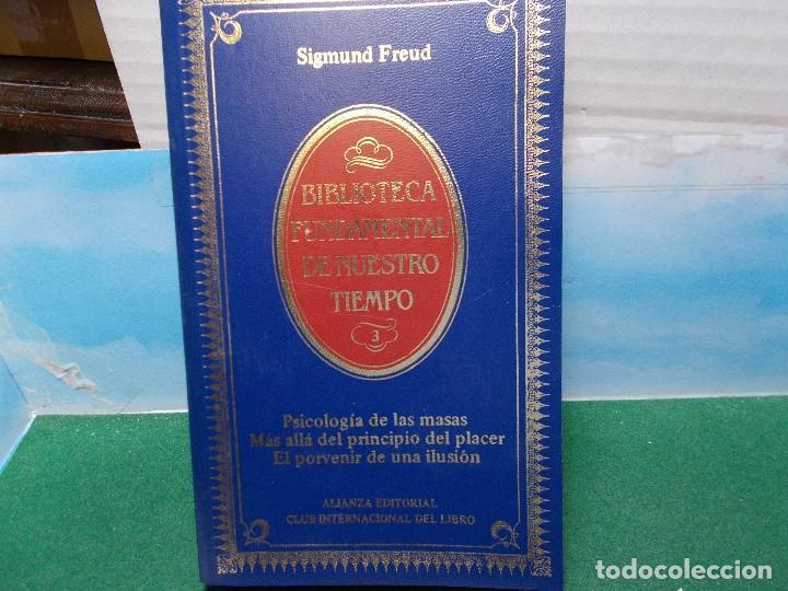 Libros de segunda mano: LOTE SIGMUND FREUD ALIANZA EDITORIAL 10 LIBROS. BUEN ESTADO - Foto 5 - 125809331
