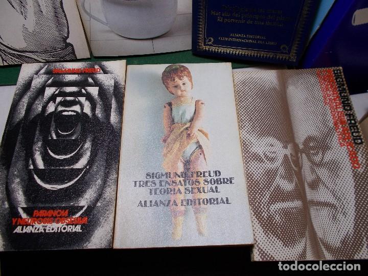 Libros de segunda mano: LOTE SIGMUND FREUD ALIANZA EDITORIAL 10 LIBROS. BUEN ESTADO - Foto 6 - 125809331