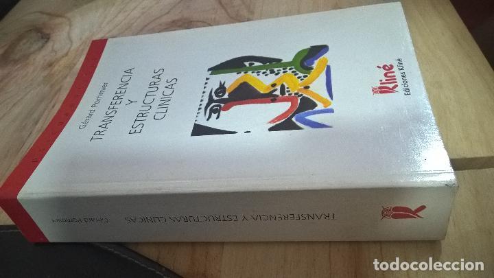 Libros de segunda mano: TRANSFERENCIA Y ESTRUCTURAS CLINICAS. GERARD POMMIER. EDICIONES KLINE 1999. VER FOTO PARA INFORMACIO - Foto 4 - 126236779