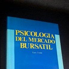 Libros de segunda mano: PSICOLOGIA DEL MERCADO BURSATIL. LARS TVEDE. TACTICA, OPORTUNIDAD Y ANALISIS TECNICO. . Lote 126380503