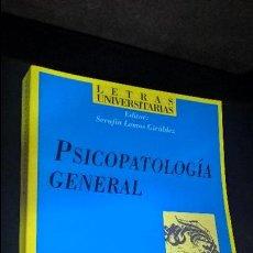 Libros de segunda mano: PSICOPATOLOGIA GENERAL. SERAFIN LEMOS GIRALDEZ. SINTESIS 2000. . Lote 126538295