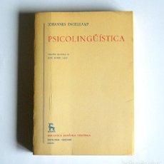 Libri di seconda mano: PSICOLINGÜISTICA - JOHANNES ENGELKAMP. Lote 126697771