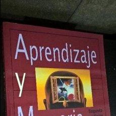 Libros de segunda mano: APRENDIZAJE Y MEMORIA: UN ENFOQUE INTEGRAL. JOHN R. ANDERSON. MC GRAW HILL 2001. . Lote 127939995