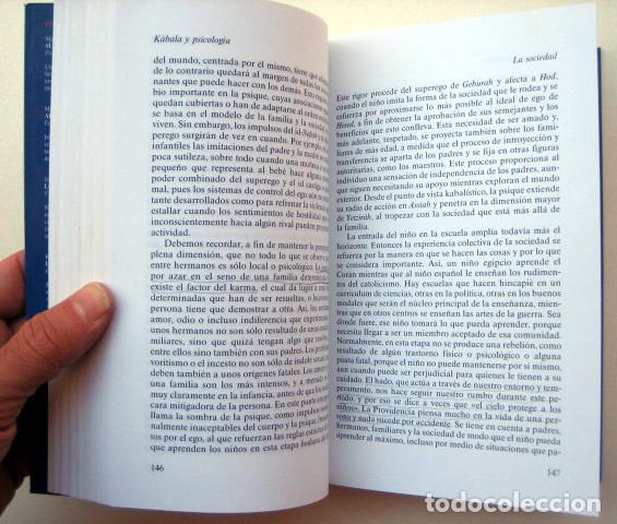 Libros de segunda mano: Kábala y psicología, de Z'ev ben Shimon Halevi - Foto 3 - 127978347